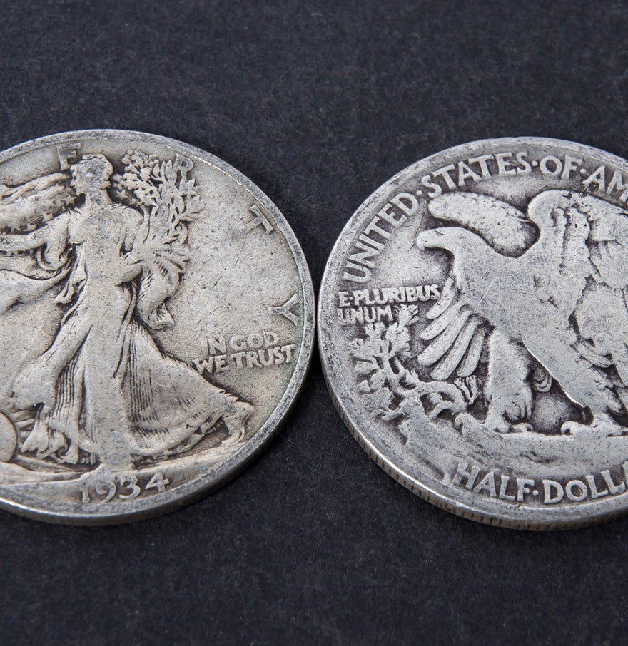 Beautiful 1934 Walking Lady Liberty Silver Half Dollars Ebth Lady Liberty Dime Of Adorable 45 Pics Lady Liberty Dime