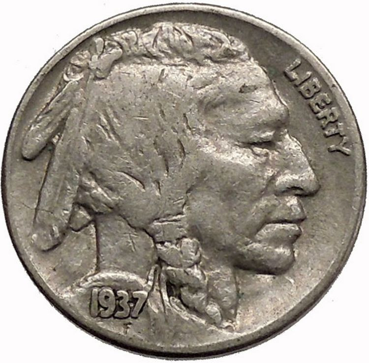 Beautiful 1937 Buffalo Nickel 5 Cents Of United States Of America Buffalo 5 Cent Of Great 49 Photos Buffalo 5 Cent