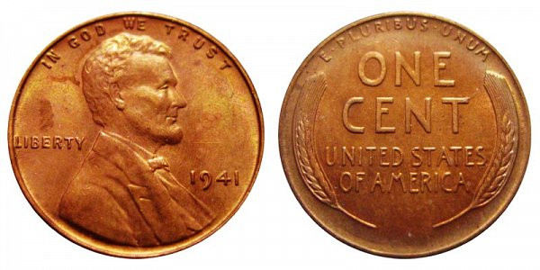 Beautiful 1941 P Lincoln Wheat Cent Bronze Posite Penny Value Wheat Penny Prices Of Adorable 50 Pics Wheat Penny Prices