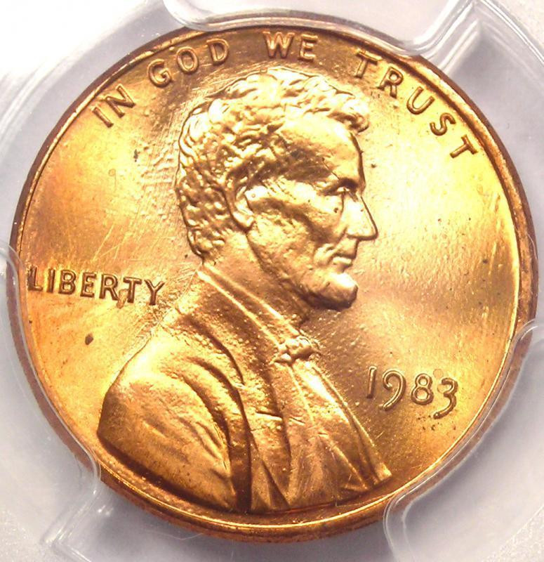 Beautiful 1983 Doubled Die Reverse Ddr Lincoln Cent Penny 1c Pcgs Double Die Penny Value Of Wonderful 48 Pictures Double Die Penny Value