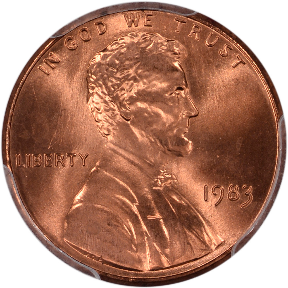 Beautiful 1983 Us Lincoln Cent 1c Doubled Die Reverse Pcgs Double Die Penny Value Of Wonderful 48 Pictures Double Die Penny Value
