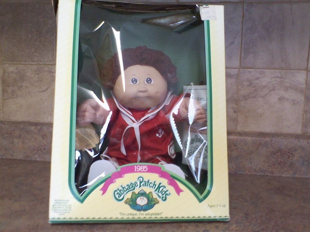 Beautiful 1985 Vintage Nostalgic Cabbage Patch Kids Lloyd Terence Collectible Cabbage Patch Dolls Of Luxury 42 Pics Collectible Cabbage Patch Dolls