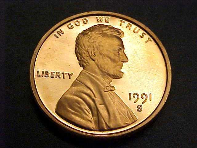 Beautiful 1991 S Lincoln Head Cent Penny Gem Proof Bin Offers Lincoln Head Penny Of Great 48 Models Lincoln Head Penny