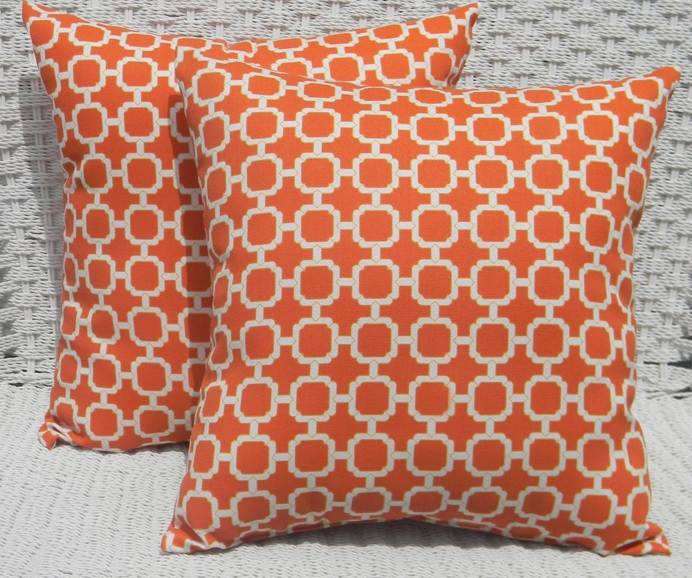 Beautiful 2 Pk Decorative Throw Zipper Pillow Covers orange Patterned Throw Of Amazing 40 Photos Patterned Throw