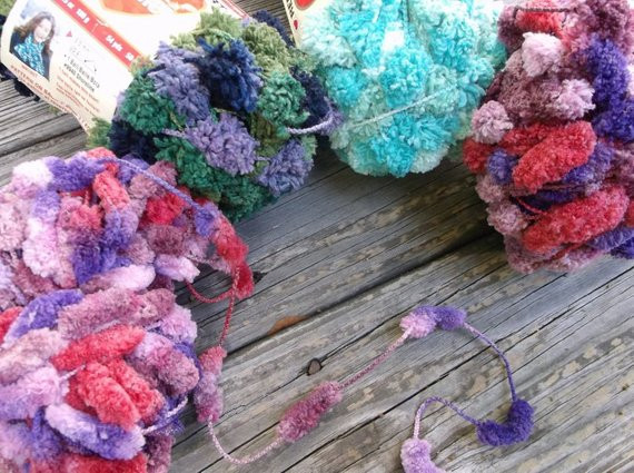 Beautiful 2 Skeins Pomp A Doodle Yarn Plus 2 In Turquoise Green Pomp A Doodle Yarn Of Charming 42 Pics Pomp A Doodle Yarn