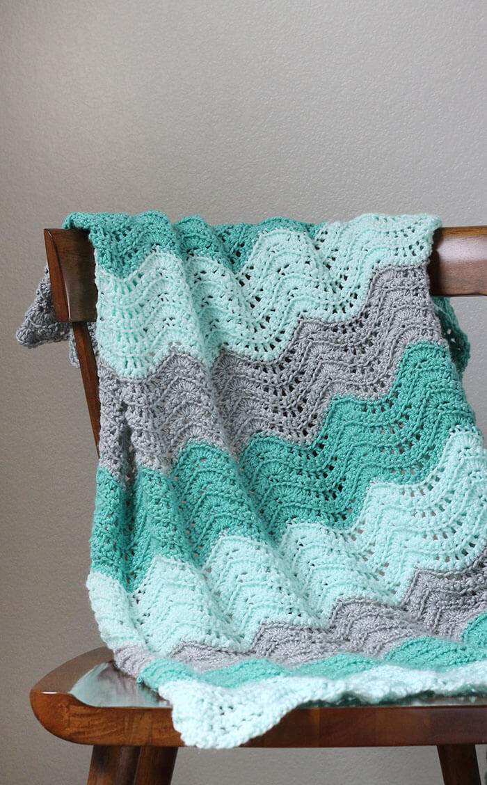 Beautiful 20 Easy Crochet Afghans Perfect for Beginners Dabbles Simple Crochet Baby Blanket Of Marvelous 48 Pictures Simple Crochet Baby Blanket