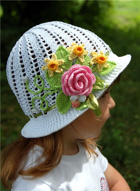 Beautiful 20 Fab Art Diy Crochet Girl's Sun Hat with Pattern Crochet Summer Hat Pattern Of Incredible 46 Photos Crochet Summer Hat Pattern