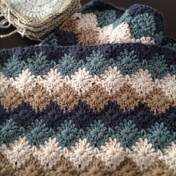 Beautiful 20 Free Crochet Blanket Patterns with Lots Of Tutorials Different Crochet Stitches for Blankets Of Innovative 40 Pictures Different Crochet Stitches for Blankets