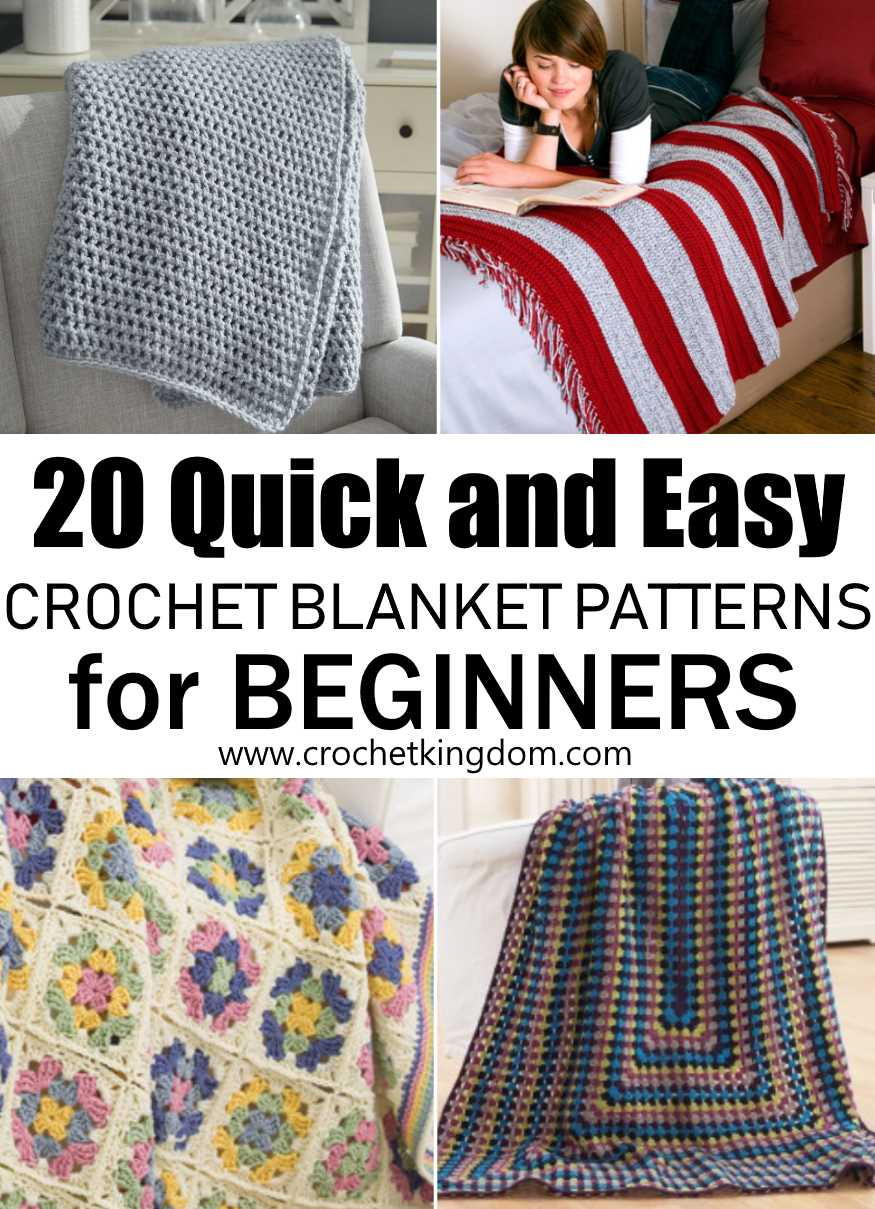 Beautiful 20 Quick and Easy Crochet Blanket Patterns for Beginners Crochet Blanket Patterns for Beginners Of Charming 50 Pictures Crochet Blanket Patterns for Beginners