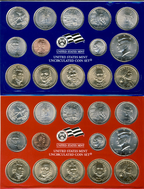 Beautiful 2008 Mint Set State Quarter Set Value Of New 2007 P & D United States Mint Uncirculated Coin Set State Quarter Set Value