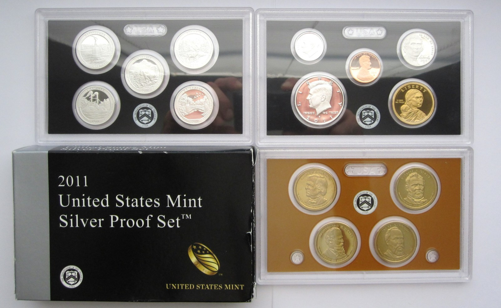 Beautiful 2011 United States Mint Silver Proof 14 Coin Set Proof Sets United States Mint Proof Set Of Charming 43 Photos United States Mint Proof Set