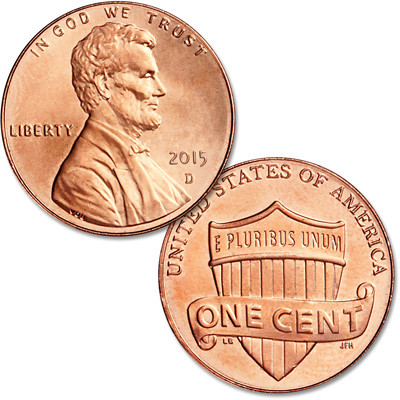 Beautiful 2015 D Lincoln Head Cent Lincoln Head Penny Of Great 48 Models Lincoln Head Penny