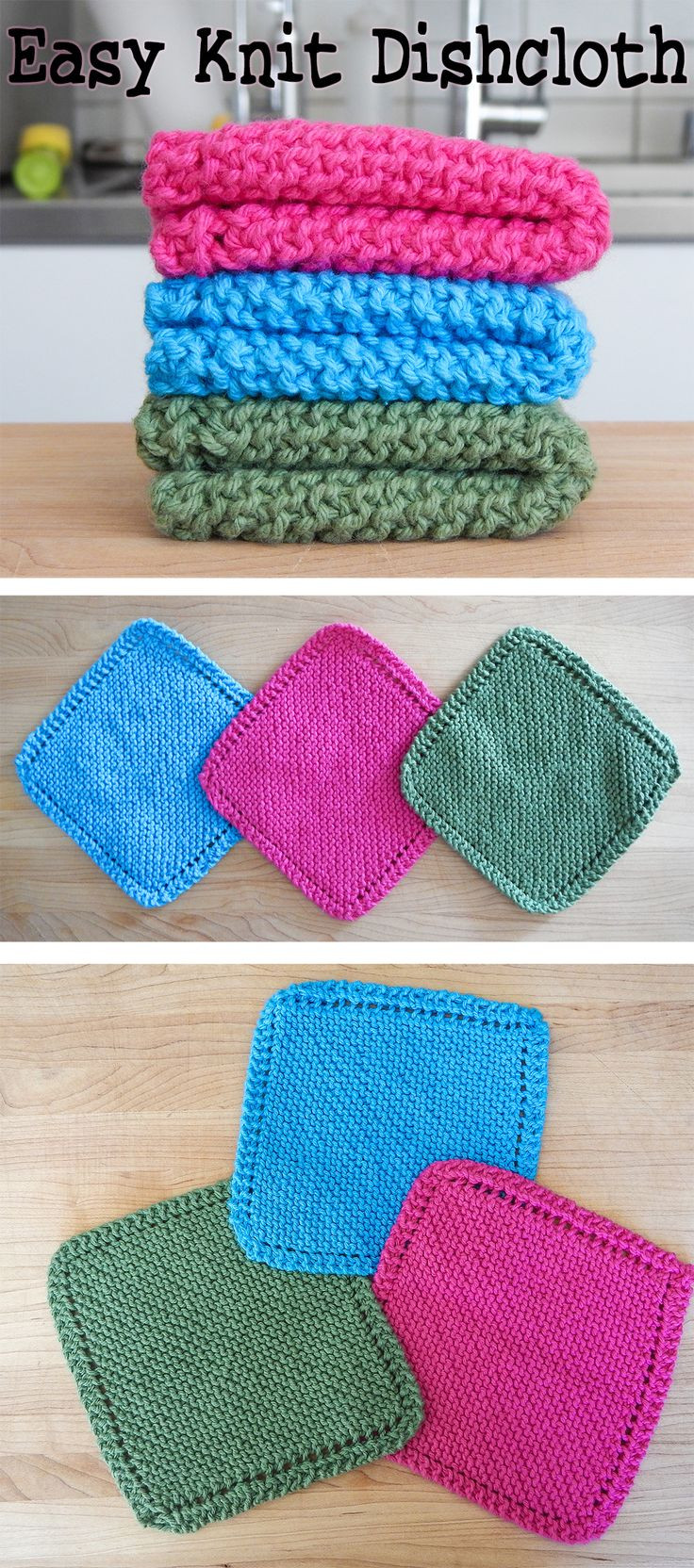 Charming 43 Images Easy Knitting For Beginners