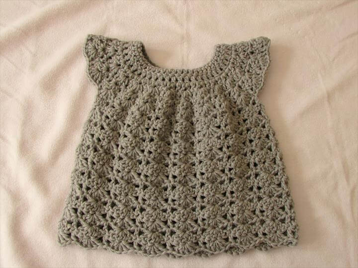 Beautiful 26 Gorgeous Crochet Baby Dress for Babies Crochet Little Girl Dress Of Awesome 44 Images Crochet Little Girl Dress