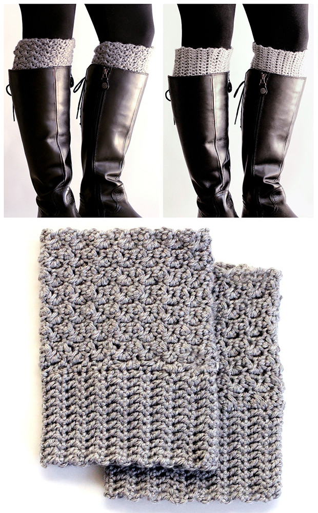 Beautiful 26 Wonderful Free Patterns for Crochet Boot Cuffs Boot Cuff Pattern Of Contemporary 48 Pics Boot Cuff Pattern