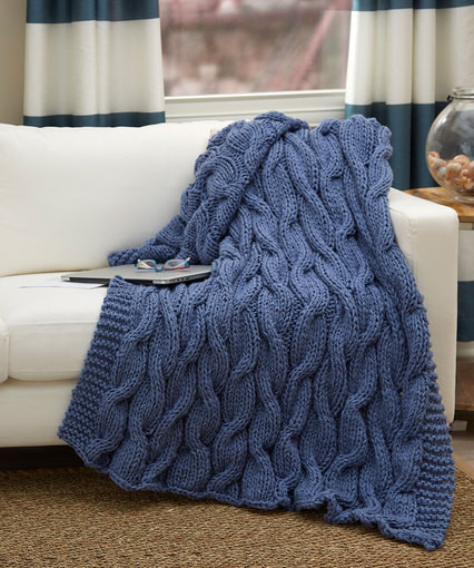 30 Free Knitting Patterns for Knee Rugs ⋆ Knitting Bee