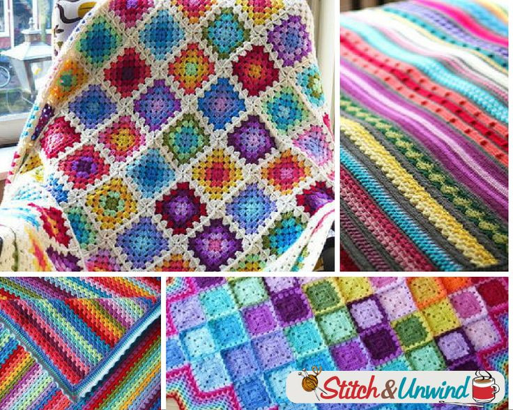 355 best images about Rainbow Colored Crochet on Pinterest