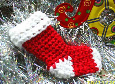 40 all free crochet christmas stocking patterns