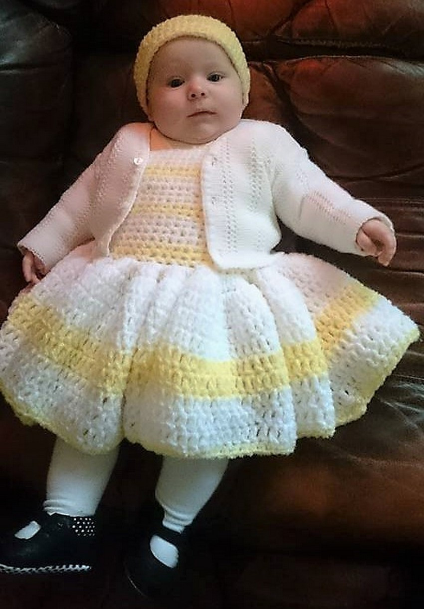 Beautiful 40 Eye Catching Crochet Baby Dresses & Sets Crochet Baby Sets Of Amazing 49 Models Crochet Baby Sets