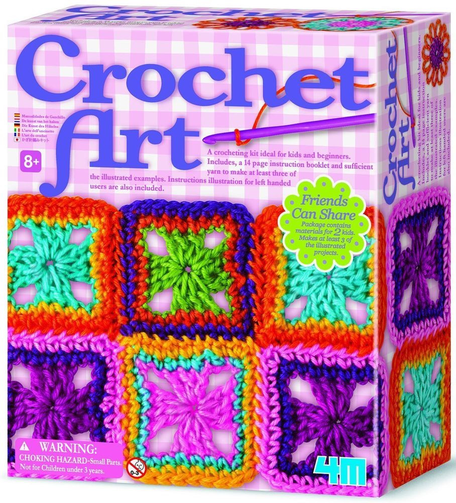 Beautiful 4m Crochet Art Kit New Free Shipping Crochet Kit for Beginners Of Unique 40 Models Crochet Kit for Beginners