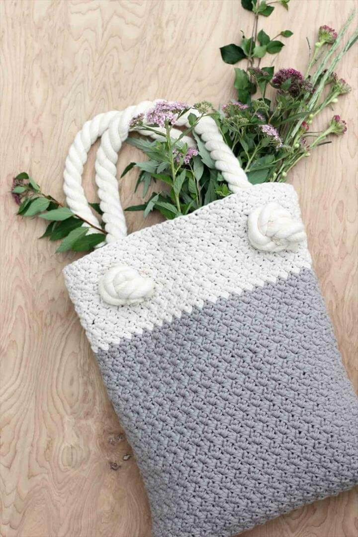 Beautiful 50 Diy Crochet Purse tote & Bag Patterns Crochet tote Of Adorable 41 Images Crochet tote