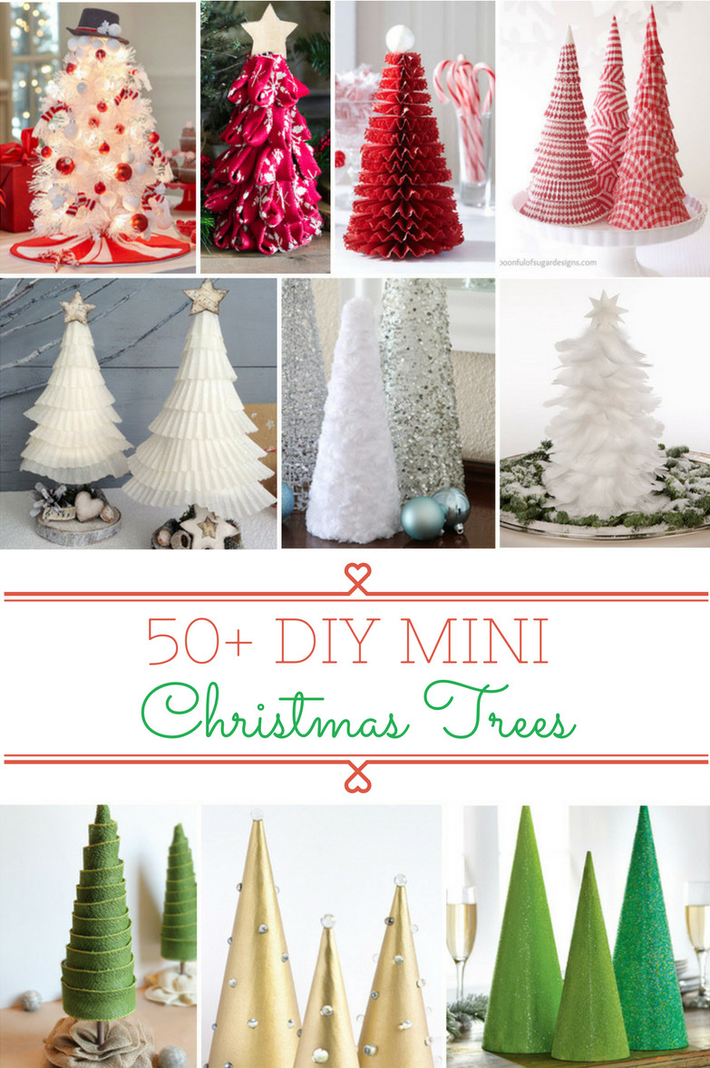 Beautiful 50 Diy Mini Christmas Trees Prudent Penny Pincher Small Christmas Decorations Of Gorgeous 43 Images Small Christmas Decorations