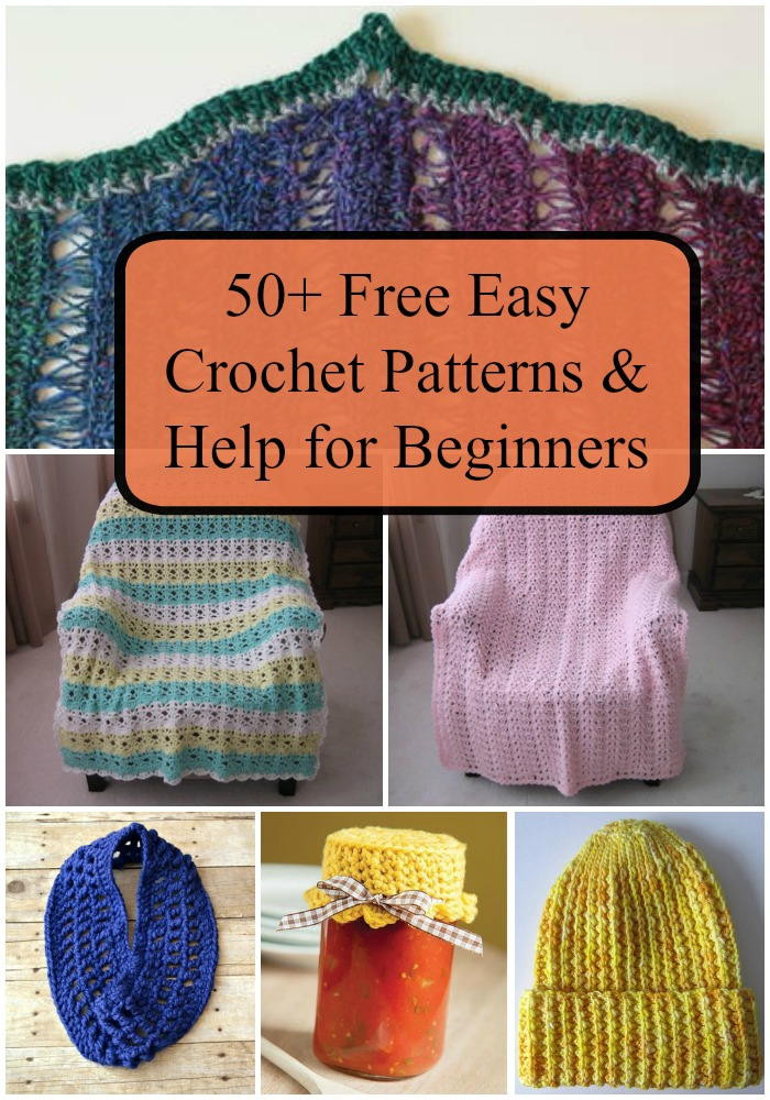Beautiful 50 Free Easy Crochet Patterns and Help for Beginners Easy Crochet Projects Of Awesome 49 Pics Easy Crochet Projects
