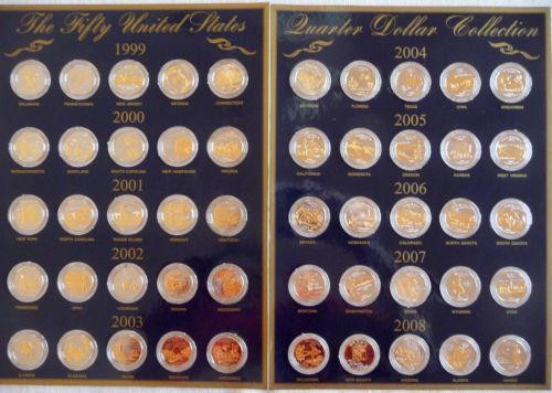 Beautiful 50 State Memorative Quarters 50 State Quarter Collection Of Adorable 42 Pictures 50 State Quarter Collection