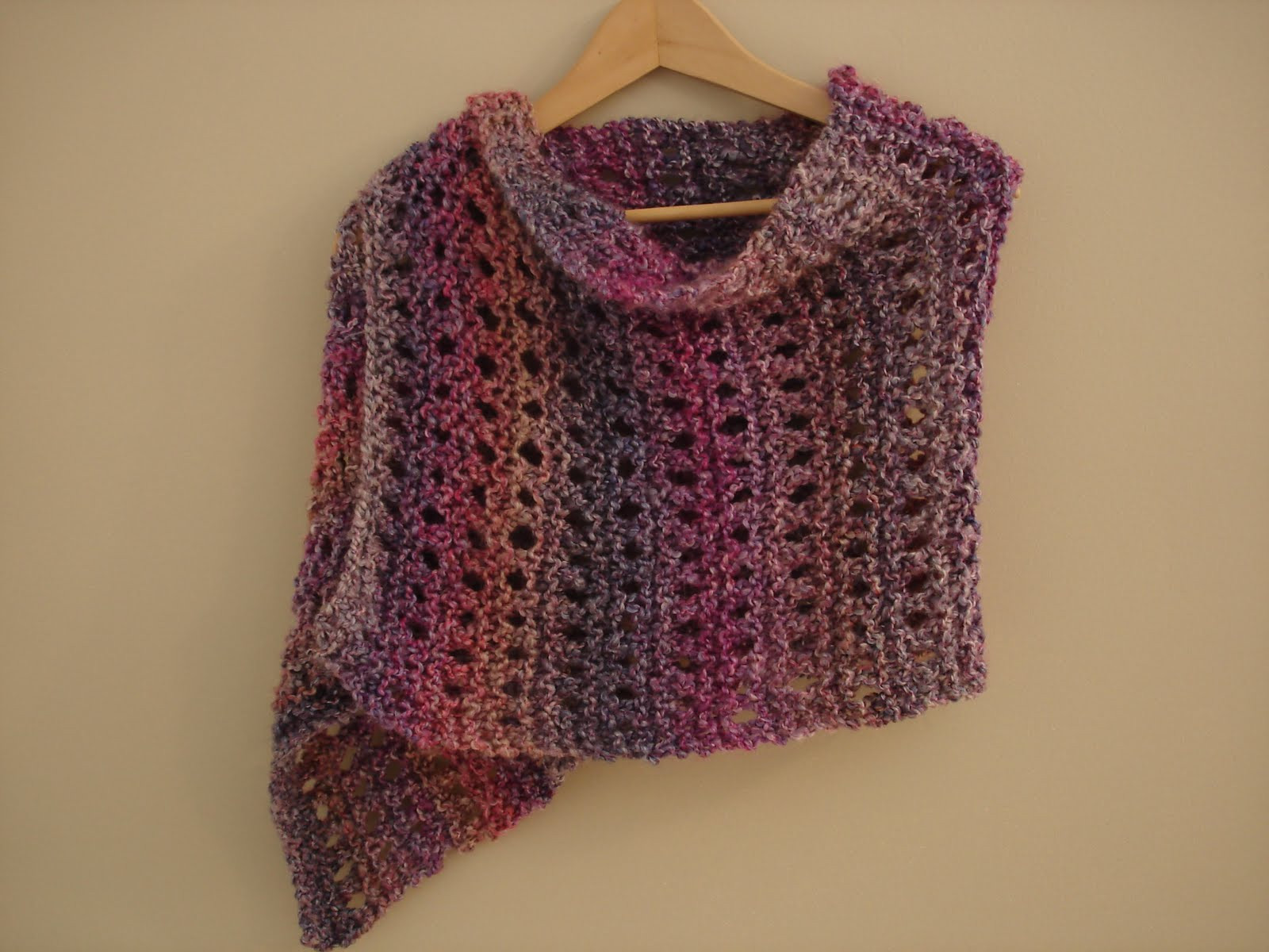 57 Easy Knitted Shawl Patterns Free Easy Lace Shawl