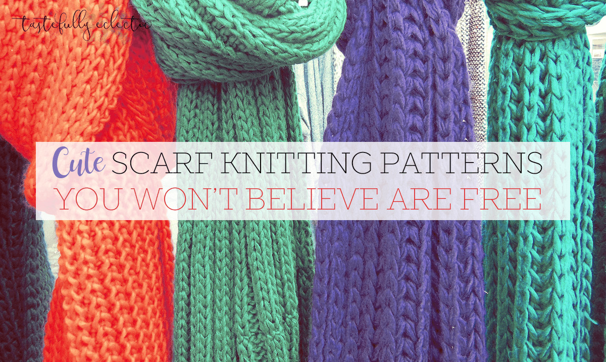 59 Cool Knitting Patterns For Scarves 9 Free Scarf