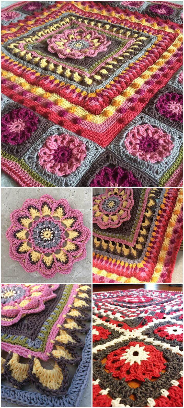Beautiful 60 Free Crochet Mandala Patterns Page 7 Of 12 Diy Mandala Crochet Patterns Of Beautiful 48 Pictures Mandala Crochet Patterns