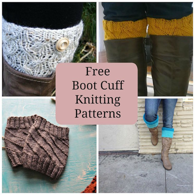 Beautiful 8 Quick & Free Knitted Boot Cuffs Knitted Boot Cuffs Of Awesome Kriskrafter Free Knit Pattern 2 Needle Boot toppers Cuffs Knitted Boot Cuffs