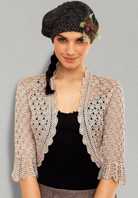 Beautiful 94 Best Images About Boleros On Pinterest Free Crochet Shrug Pattern Of Adorable 47 Images Free Crochet Shrug Pattern