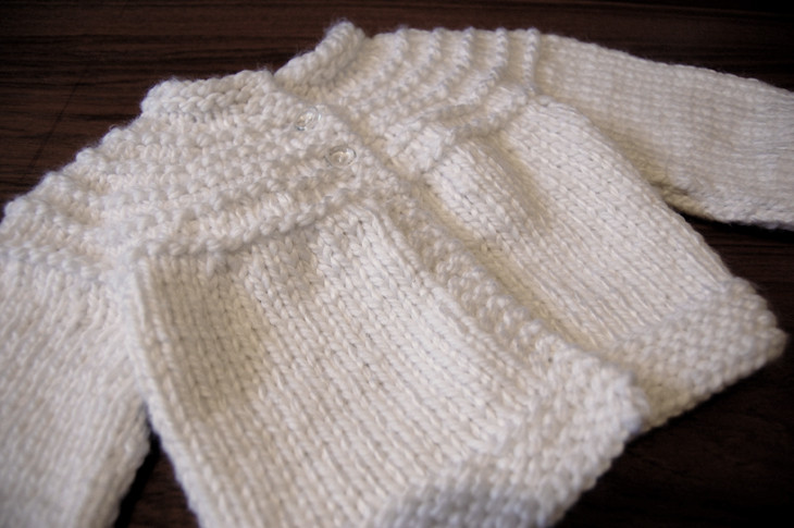 Beautiful A Snowy White Biscuit Sweater Easy Baby Sweater Knitting Pattern Of Lovely Baby Knitting Patterns Free Knitting Pattern for Easy Easy Baby Sweater Knitting Pattern