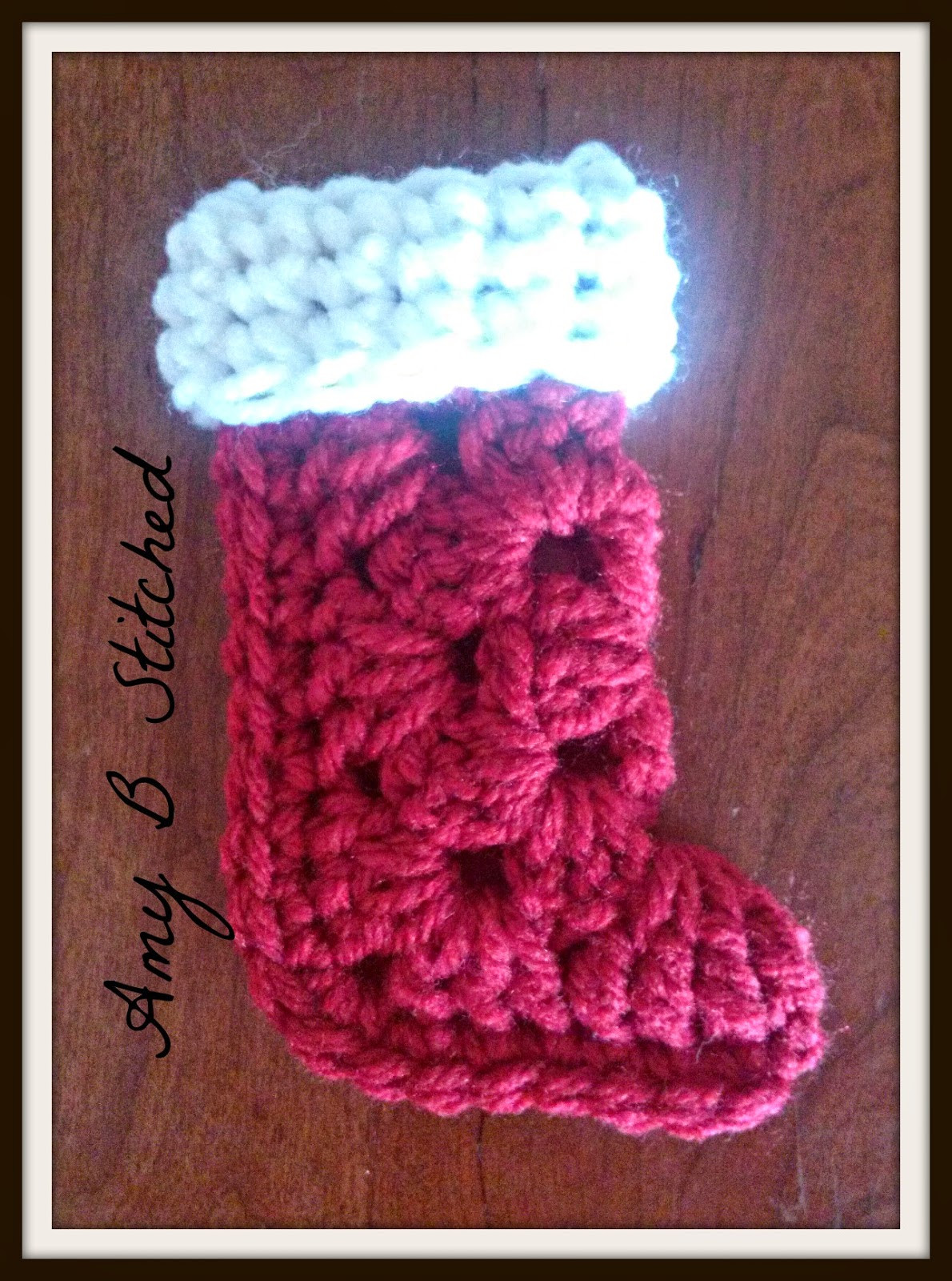 Beautiful A Stitch at A Time for Amy B Stitched Granny Square Granny Square Christmas Stocking Crochet Pattern Of Amazing 44 Pics Granny Square Christmas Stocking Crochet Pattern