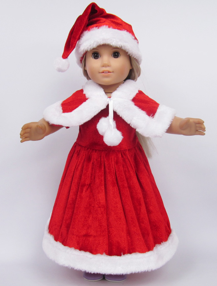 Beautiful A Style Doll Clothes for American Girl Red Christmas American Girl Doll Christmas Outfits Of Wonderful 40 Ideas American Girl Doll Christmas Outfits