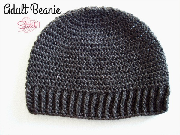 Beautiful Adult Beanie for Men or Women Free Crochet Pattern Free Crochet Hat Patterns for Adults Of Incredible 50 Pics Free Crochet Hat Patterns for Adults