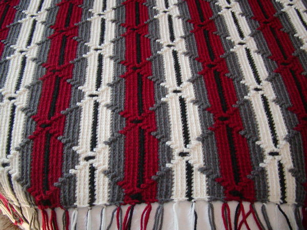 "Beautiful Afghan Called ""navaho"" Crochet Navajo Afghan Pattern Crochet Of Marvelous 42 Images Navajo Afghan Pattern Crochet"