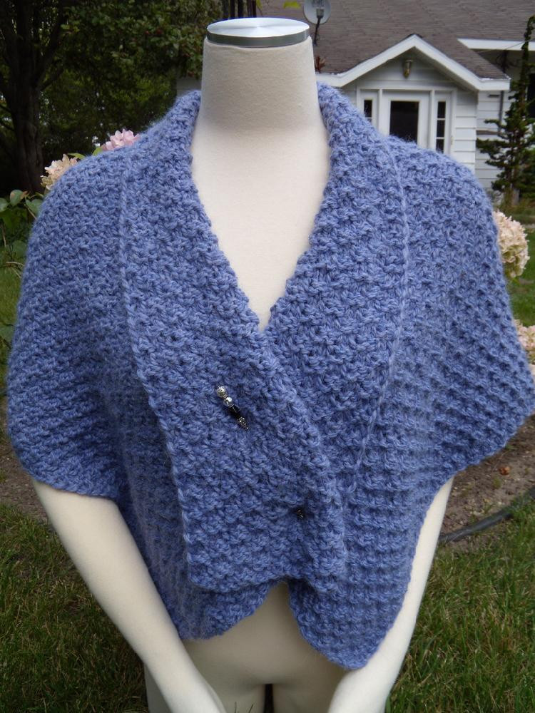 Alpaca Shoulder Shawl Knitting pattern by Terry Ross