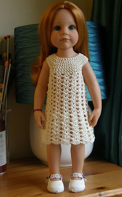 "Beautiful American Girl 18"" Doll Crochet Dress Free Pattern Ce Free American Girl Doll Patterns Of Top 44 Pics Free American Girl Doll Patterns"