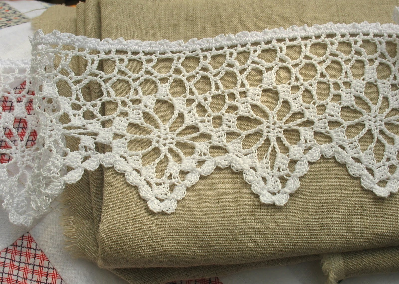 Beautiful Amy Brumley Crocheted Lace Curtains Crochet Lace Edging Pattern Of Amazing 40 Photos Crochet Lace Edging Pattern