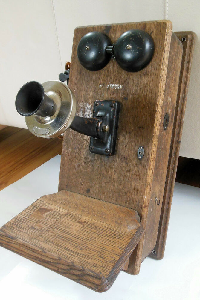 Beautiful Antique 1913 Western Electric Co 353 Oak Wall Mount Crank Old Wall Telephone Of Marvelous 42 Models Old Wall Telephone