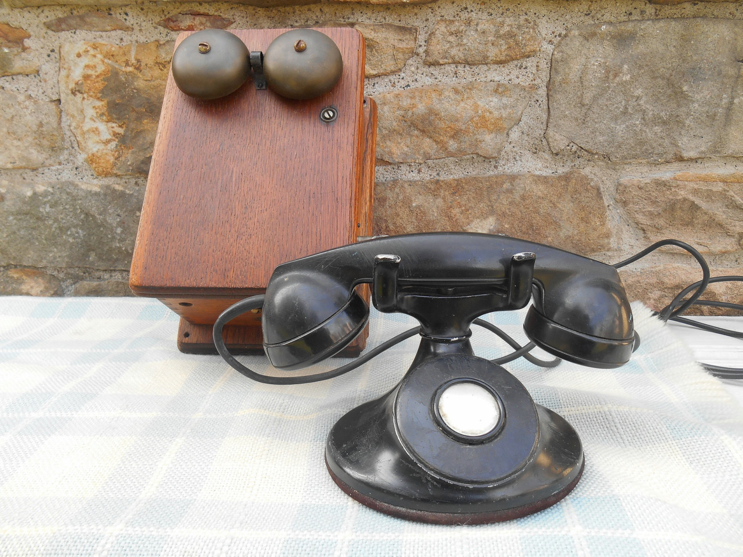 Beautiful Antique Crank Telephone with Wood Wall Box with Brass Bells Antique Crank Phone Of Top 49 Pictures Antique Crank Phone