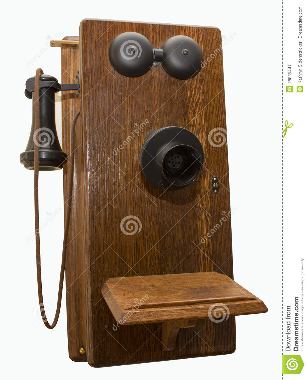 Beautiful Antique Oak Wall Telephone isolated Stock Image Image Antique Wall Telephone Of Superb 36 Ideas Antique Wall Telephone