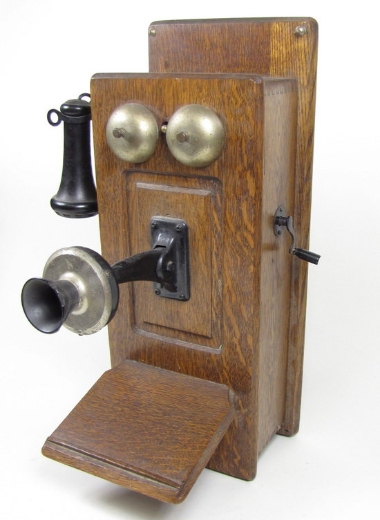Beautiful Antique Oak Wooden Wall Phone Telephone Bells Wired Works Old Wall Telephone Of Marvelous 42 Models Old Wall Telephone