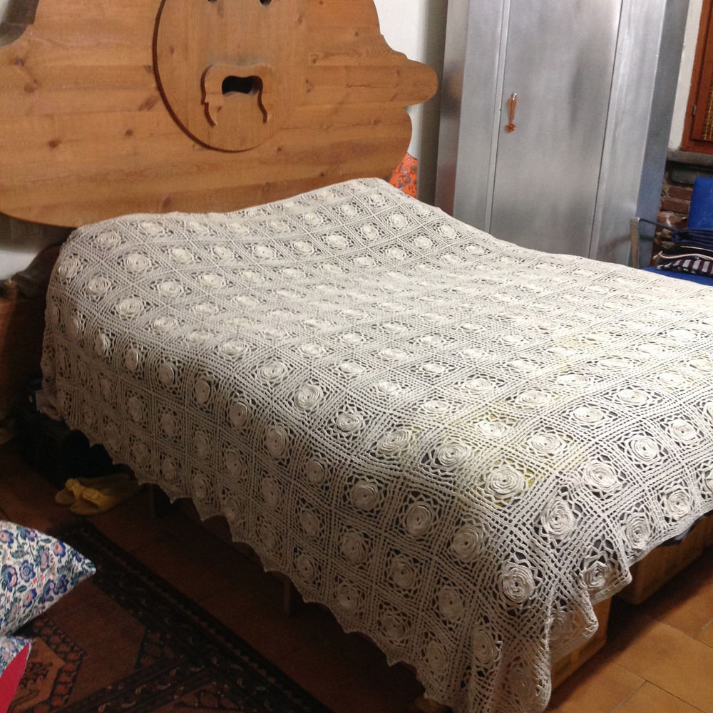 Beautiful Antique Vintage Bedspread Coverlet Crochet Bed Cover Lace Crochet Bedding Of Attractive 40 Ideas Crochet Bedding