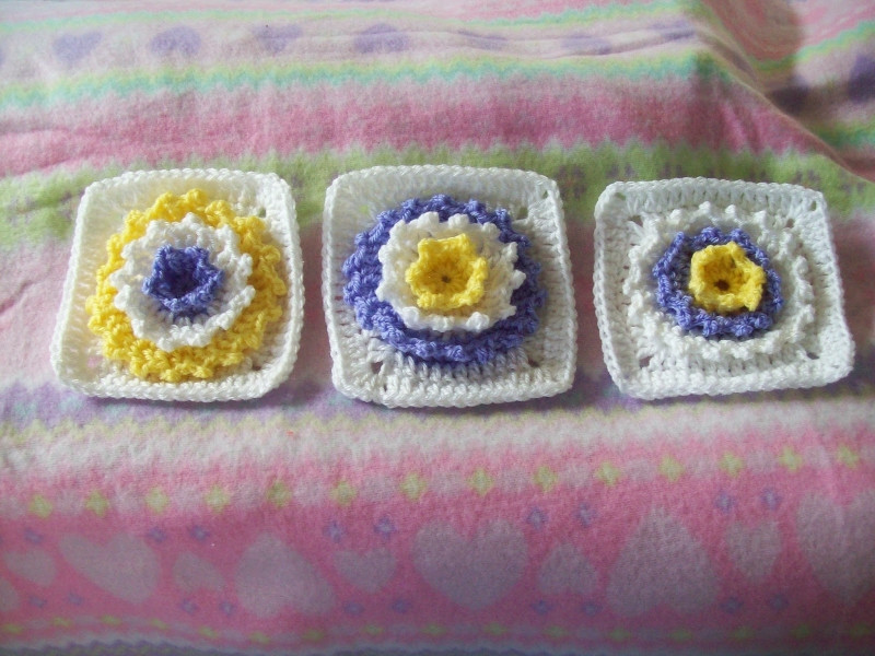 Beautiful Arise and Shine 3d Flower Square Free Crochet Pattern Crochet 3d Flower Of Awesome 46 Pics Crochet 3d Flower