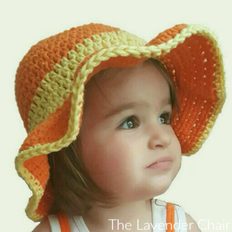 Beautiful Ava S toddler Sun Hat Crochet Pattern the Lavender Chair Crochet Sun Hat Pattern Of Superb 48 Ideas Crochet Sun Hat Pattern