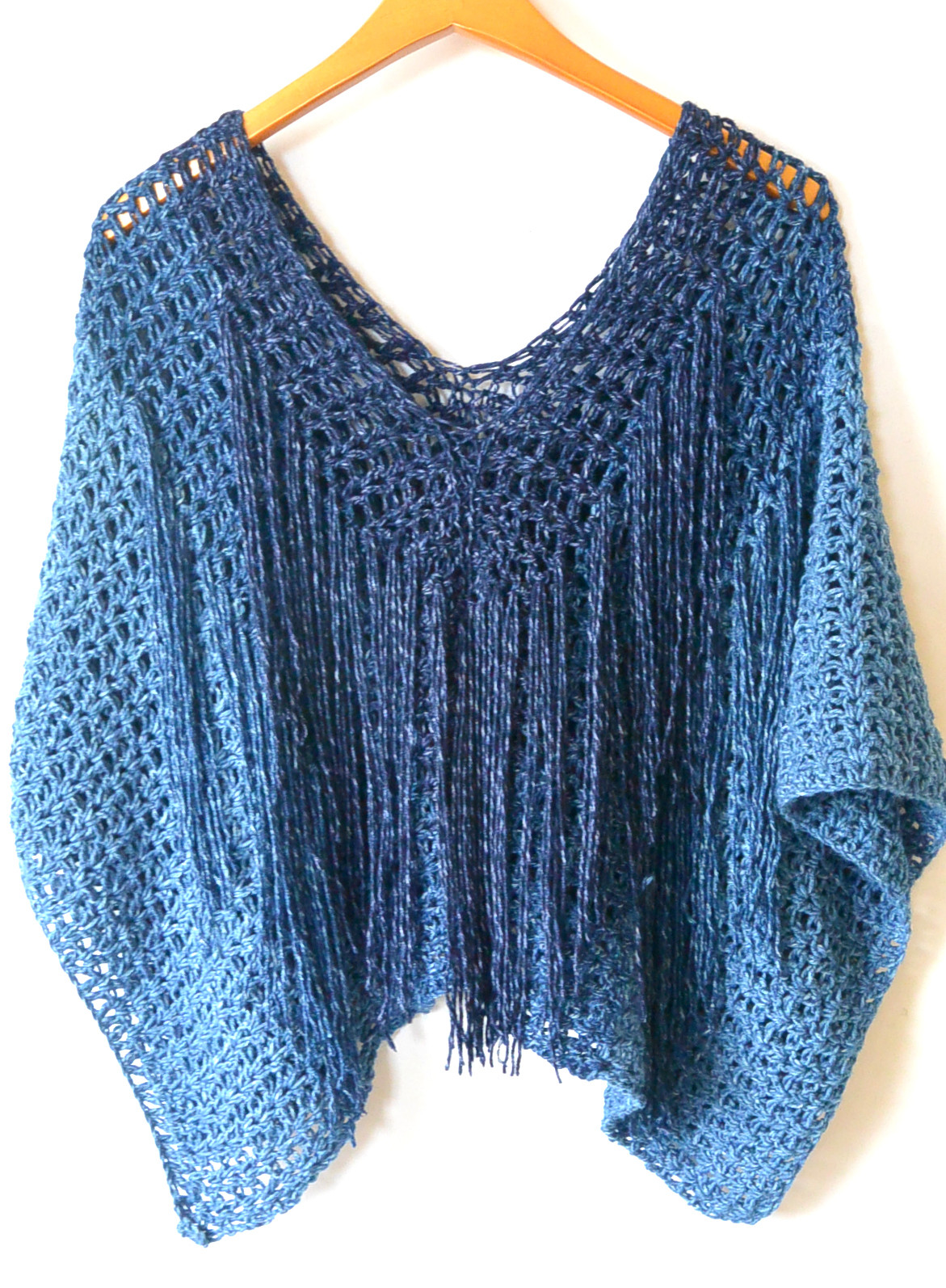 Beautiful Azul V Mesh Easy Crochet Poncho Pattern – Mama In A Stitch Crochet Cape Pattern Of Wonderful 49 Models Crochet Cape Pattern