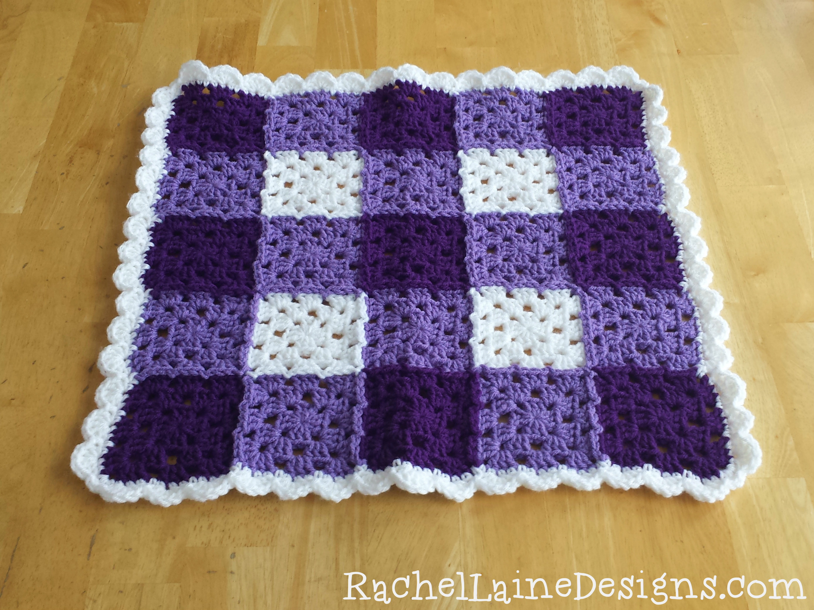 Beautiful Baby Blanket – Rachel Laine Designs Granny Square Blanket Pattern Of Lovely 45 Photos Granny Square Blanket Pattern